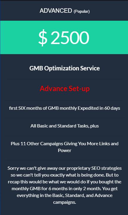 Local GMB Advanced